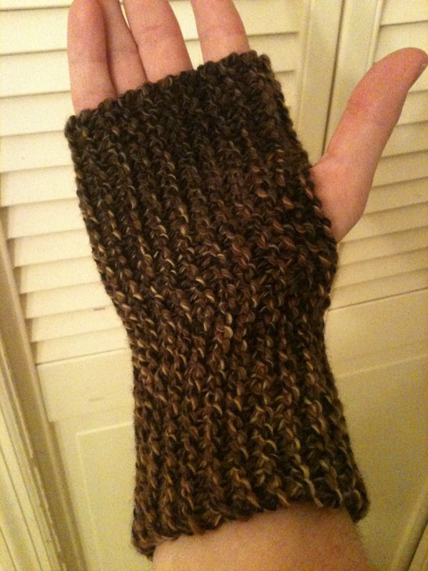 On the Sticks, In the Sticks: Free Pattern Release: Bulky Fingerless ...