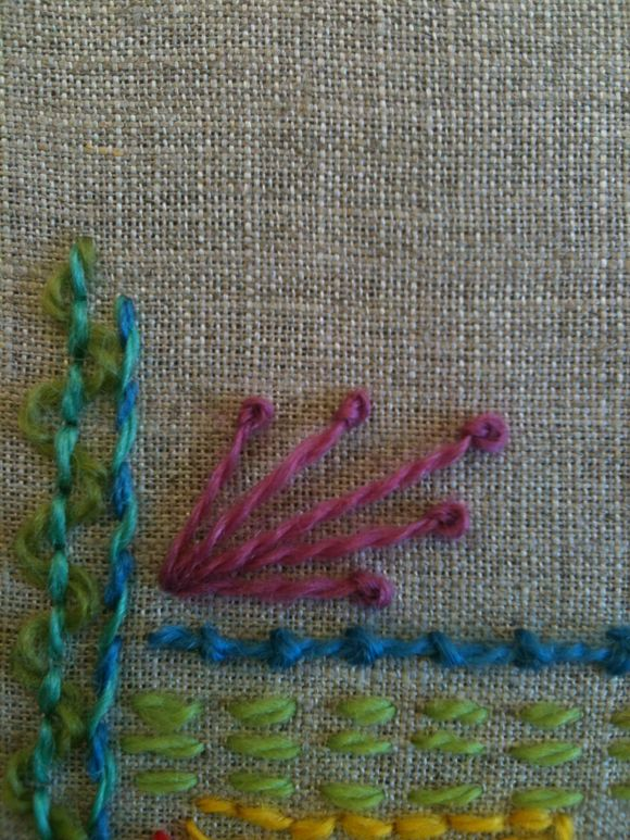 Stitching While I'm Waiting...
